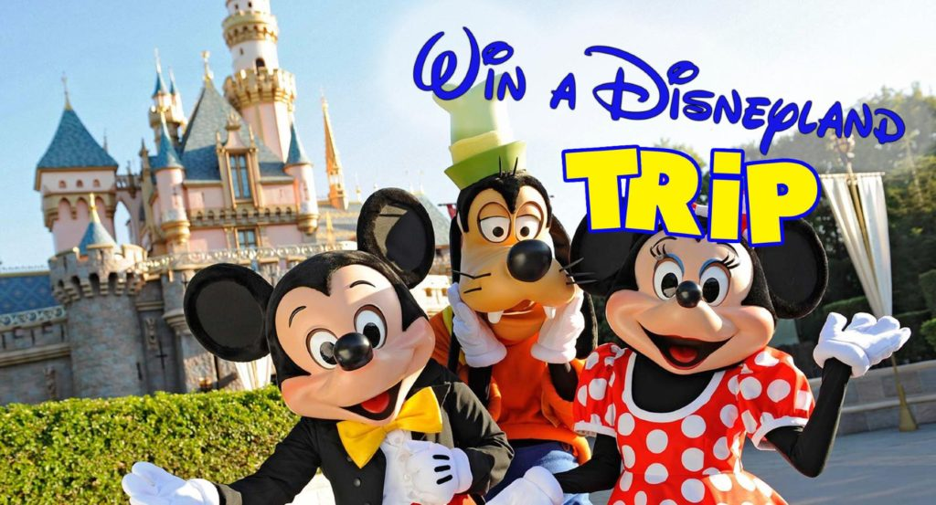 Win a free Disneyland Trip